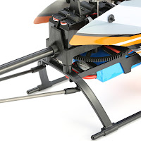 Wltoys V950 Brushless Rc Helicopter Battery Compartment