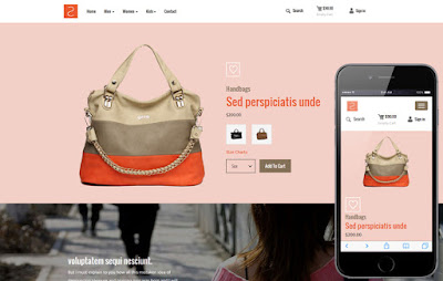 20+ Referensi Design Template Toko Online dan Admin Terkemuka
