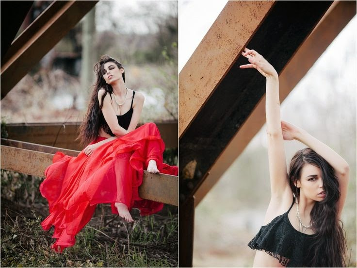Outdoor Fashion Photography Poses