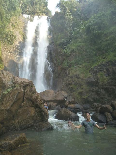 Air Terjun Bedegung Diramaikan Wisatawan