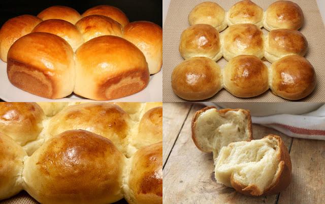 أحلى وأسهل طريقة لعمل ألذ خبز بالحليب