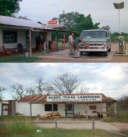Then now movie locations the texas chainsaw massacre 1974 for The texas house