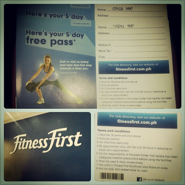 fitness first free pass 5 day