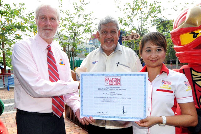 Malaysia Of Record, 2016 monkey replica lego