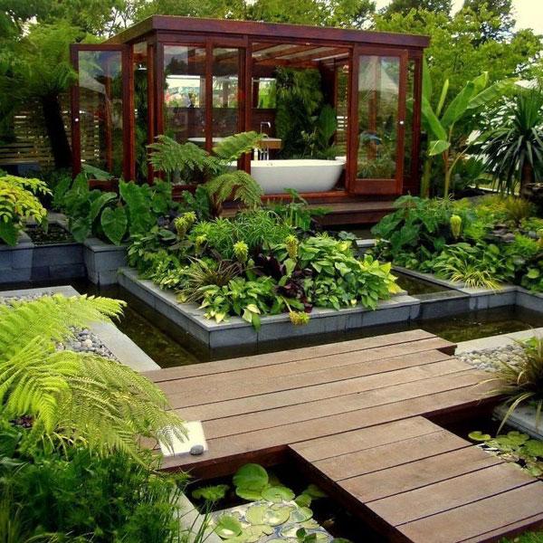 Modern Landscape Design Home: Fig: Modern Landscape Design