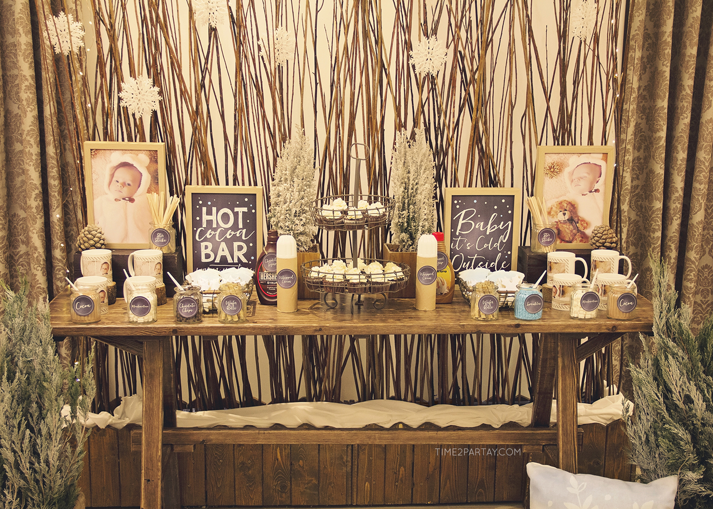 Get Ready To Cozy As We Take A Tour Of This Incredible Rustic Winter Soiree