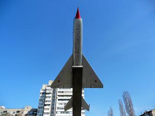 Новомосковськ. Винищувач МіГ-21ПФ