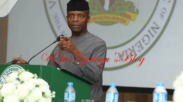 Osinbajo denies calling restructuring advocates 'political jobbers'