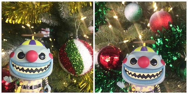 Funko Pop The Nightmare Before Christmas Clown Christmas Festive