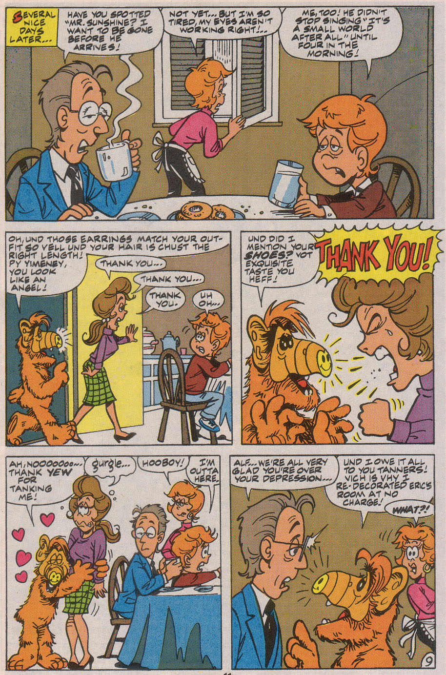 Read online ALF comic -  Issue #45 - 13