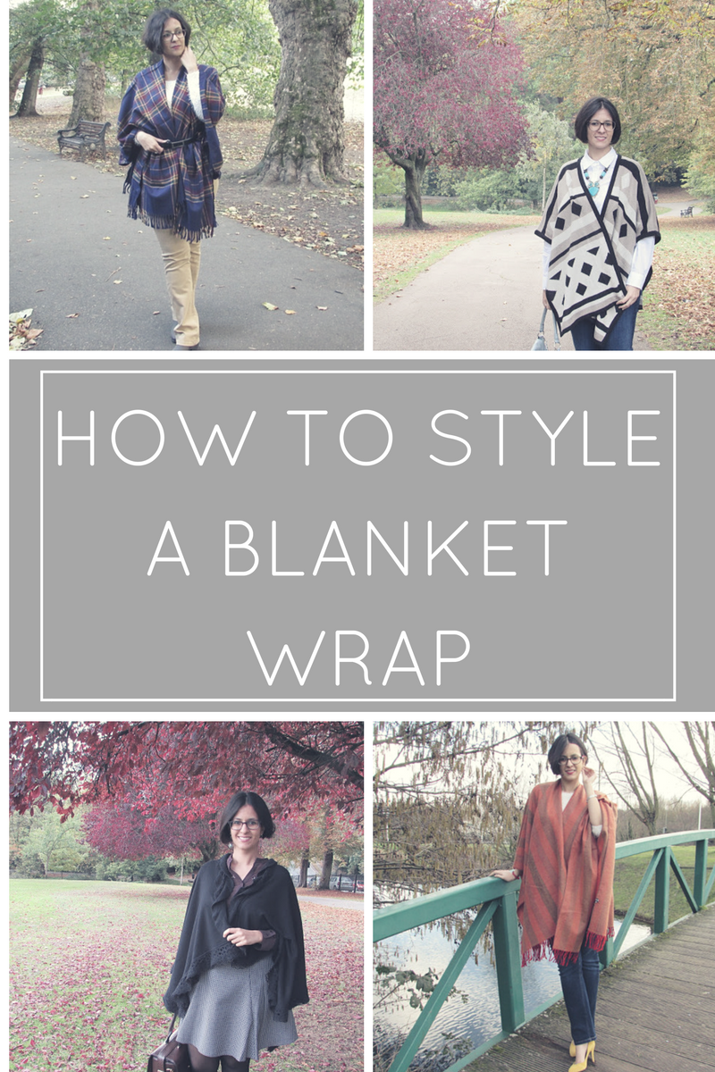 How to style a blanket wrap