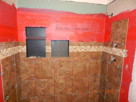 A Bathroom Remodel--Day-by-Day--Day Nine