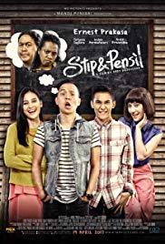 Sebuah film yang bergendre drama komedi Review Film STIP & PENSIL (2017)