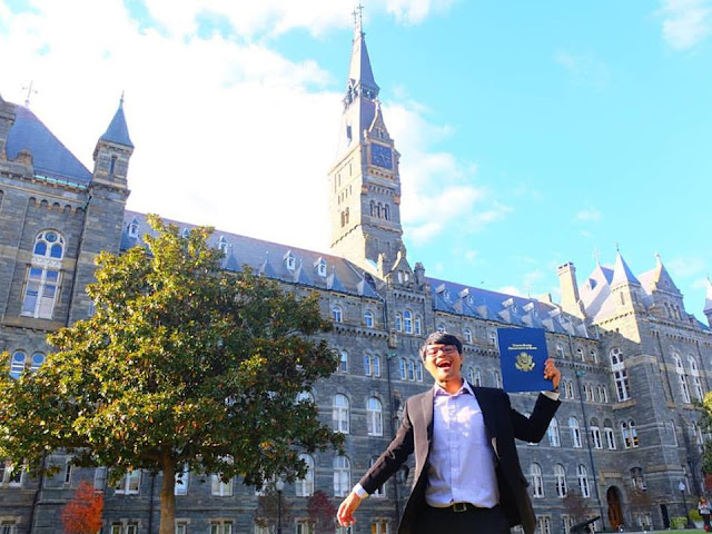 Robinson At Georgetown University, Washington DC
