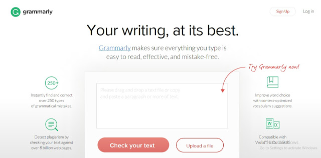 Mau Hasil Tulisan Bahasa Inggrismu Bebas Dari Kesalahan Grammar? Pakai Saja Aplikasi Grammarly