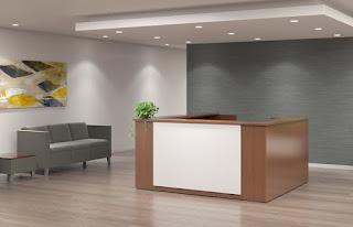 Indiana Furniture Aura Guest Reception Desk