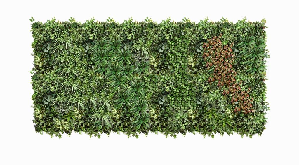 Jardin vertical artificial for Placa jardin vertical artificial