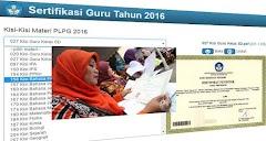 Kisi-kisi PLPG Sertifikasi Guru 2016 Semua Mata Pelajaran Lengkap