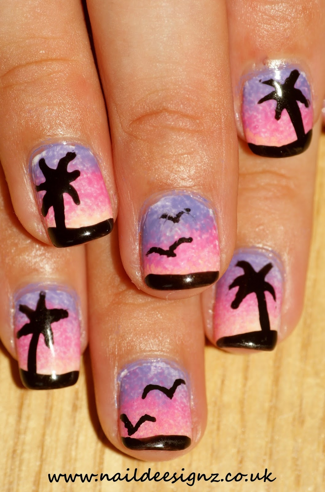 Easy Nail Designs For Short