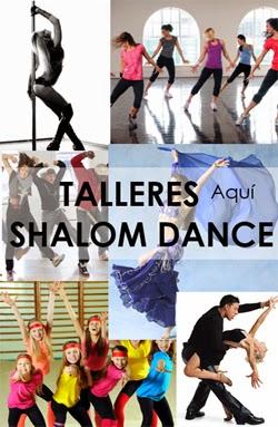 704f1e6cc34b Academia de Baile SHALOM DANCE Los Olivos aprende salsa bachata pole dance  danza arabe hip hop etc