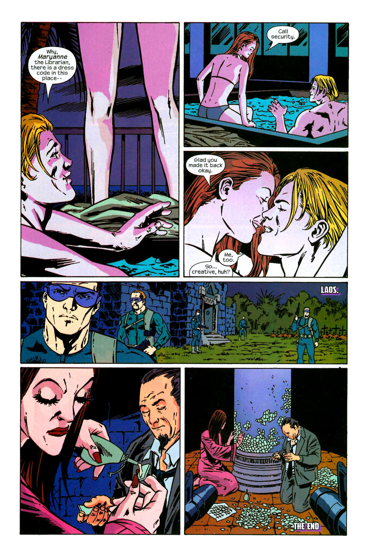 Hawkeye (2003) Issue #6 #6 - English 24