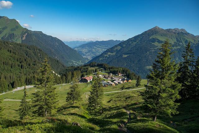 Panoramaweg Gantakopf  Wandern im Montafon 14