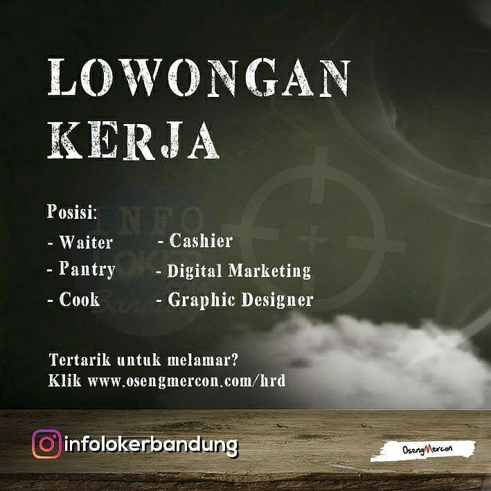 Lowongan Kerja Oseng Mercon Bandung Agustus 2018