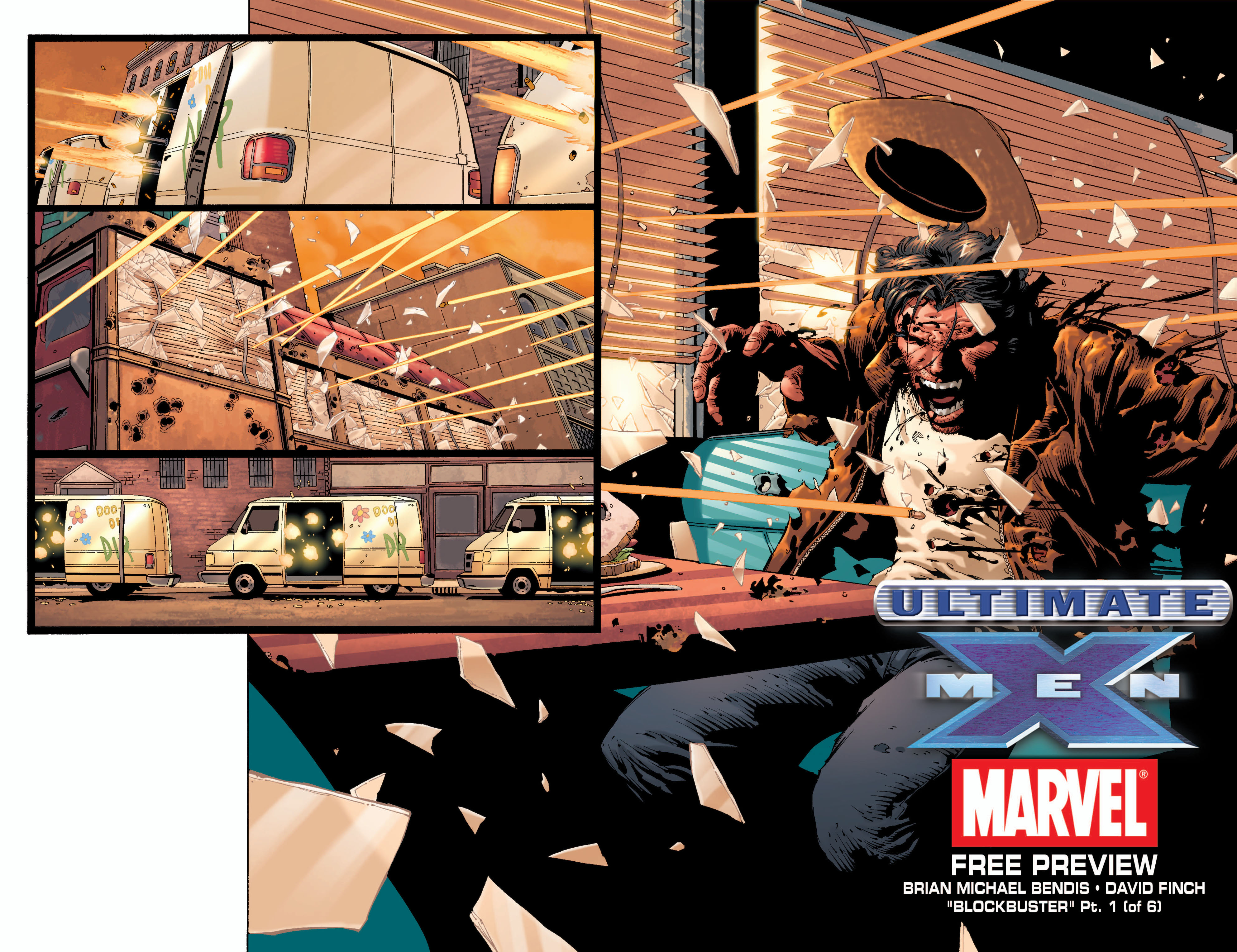 Read online Ultimate X-Men comic -  Issue #33 - 23