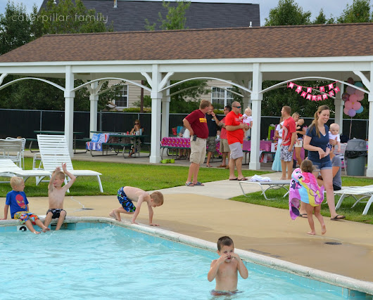 Isla and Maisy's Pool Party // Heather Rogers Review & Giveaway