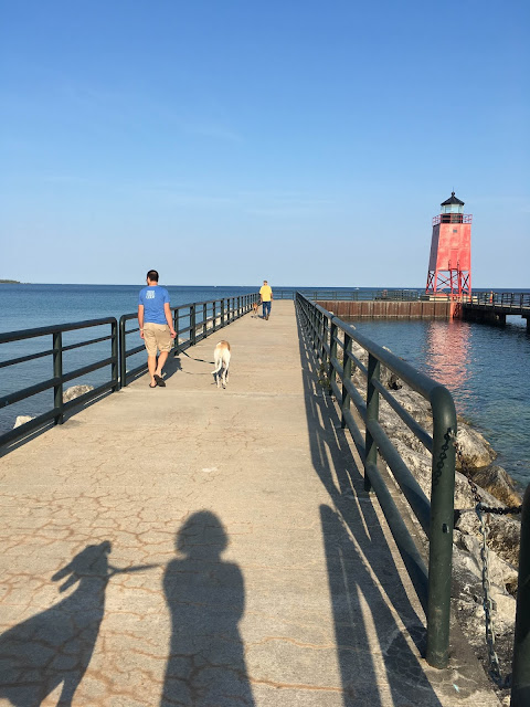 vacation, Charlevoix, lighthouse, greyhounds, Anne Butera, My Giant Strawberry