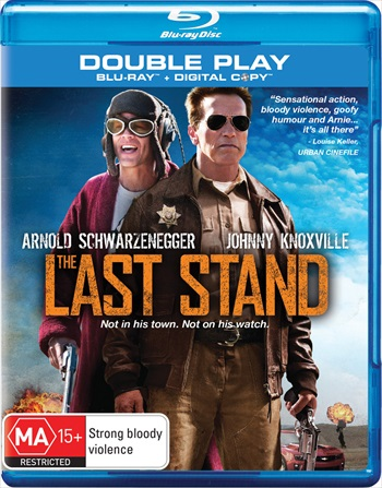 Free Download The Last Stand 2013 Dual Audio Hindi  BluRay 300mb