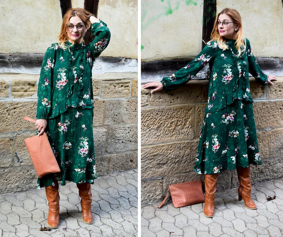 Grün richtig kombinieren, Kleid für Frauen in Grün