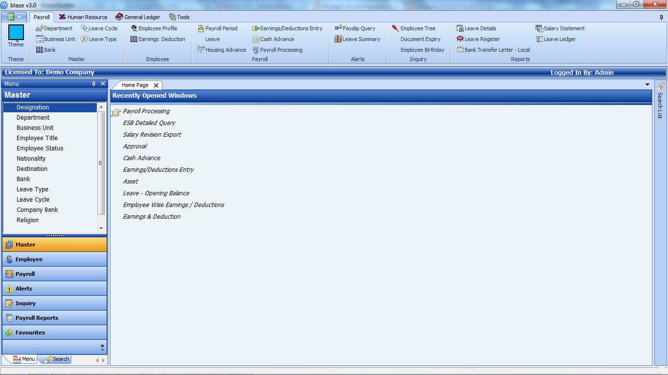 Alerts   Acme Payroll Management System