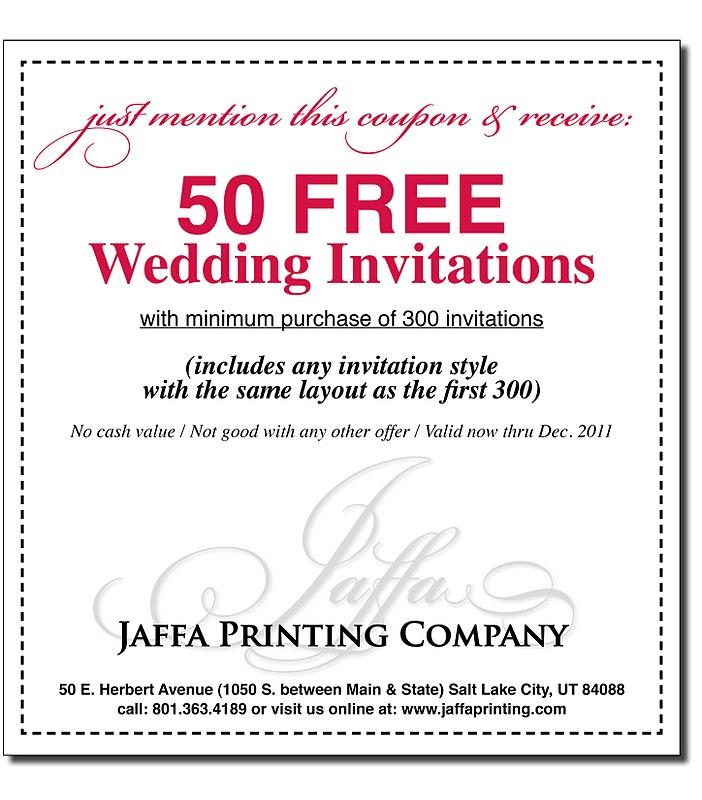 B Wedding Invitations Coupons