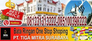 informasi dan pemesanan bata ringan murah di Surabaya