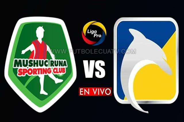 Mushuc Runa se enfrentan a Delfín en vivo desde las 15:00 horario de nuestro país por la fecha veintidós del campeonato nacional a realizarse en el campo Bellavista, teniendo como juez principal a José Espinel con transmisión del medio autorizado GolTV Ecuador.