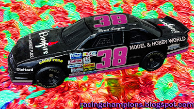 Brad Teague #38 Racing Champions 1/64 NASCAR diecast blog weiss 1991 bgn daytona