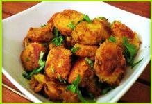 उपवास वाली कुरकुरी अरबी की सब्जी - Cranchi Arbi Recipe For Fast