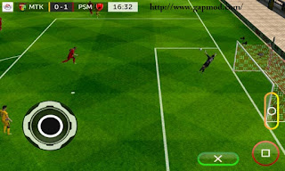 Download FTS15 Mod FIFA17 Ultimate Ver AC Milan (Limited Edition) Apk + Data