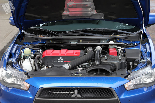 2015 Mitsubishi Lancer Evolution MR - engine