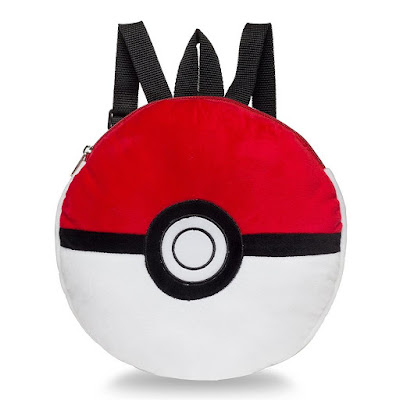 Pokeball Plush Backpack