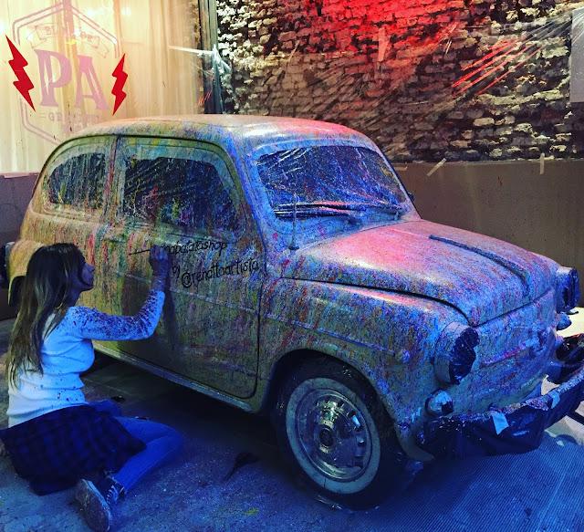diseño, arte callejero, arte urbano, renatta artista, bazar reina batata, tendencias
