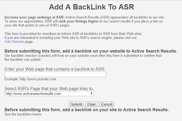 Cara Mendapatkan Backlink dari Active Search Results