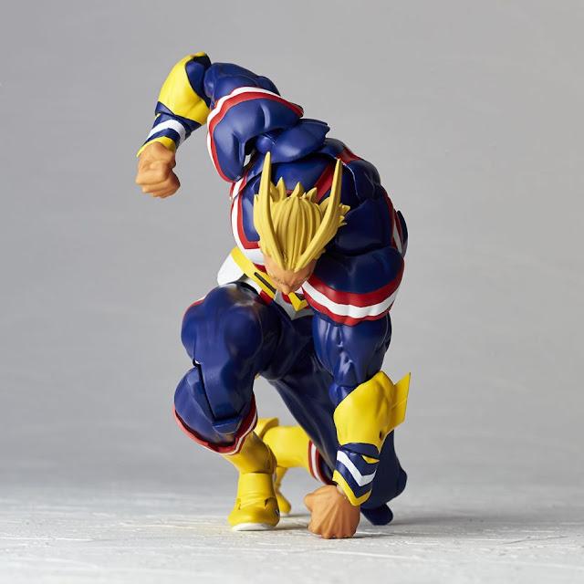 Figuras: Alucinante Revoltech de All Might de My Hero Academia - Kaiyodo