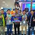 Juara 1 The Best Point pada Kejuaraan Robotik Tingkat Nasional di Depok Jakarta Atas Nama Mashudi dan Hakim dari MAN 1 Pasuruan