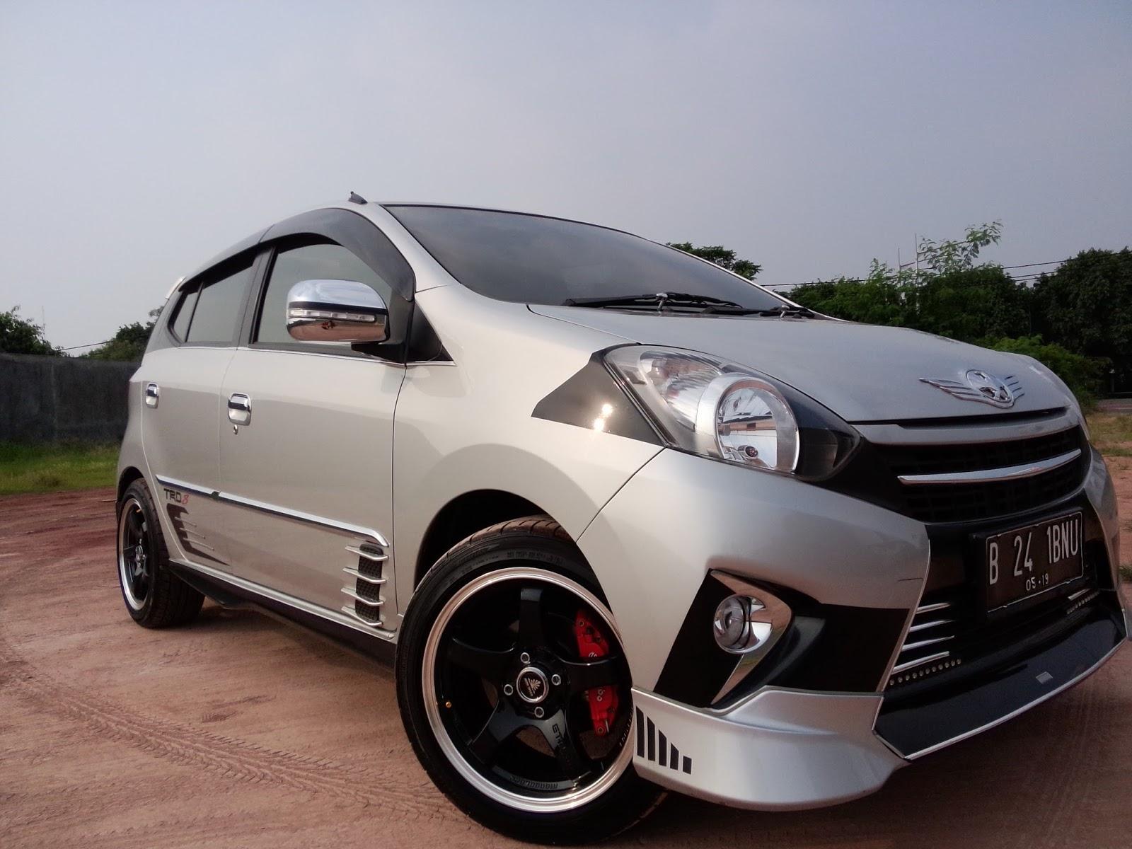 Gambar Toyota Agya Trd S A T Modifikasi Mobil