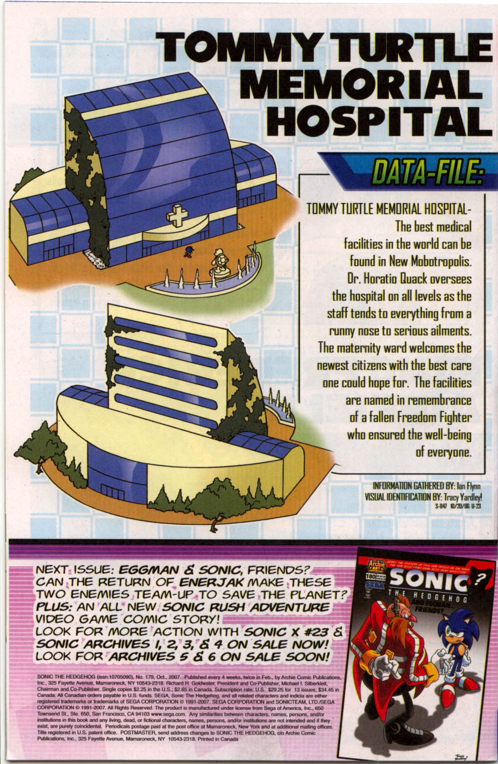Read online Sonic The Hedgehog comic -  Issue #179 - 23
