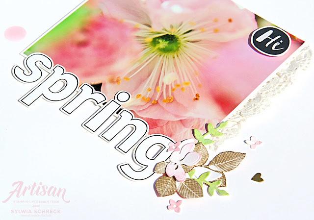 Layout-Spring-Stampin Up