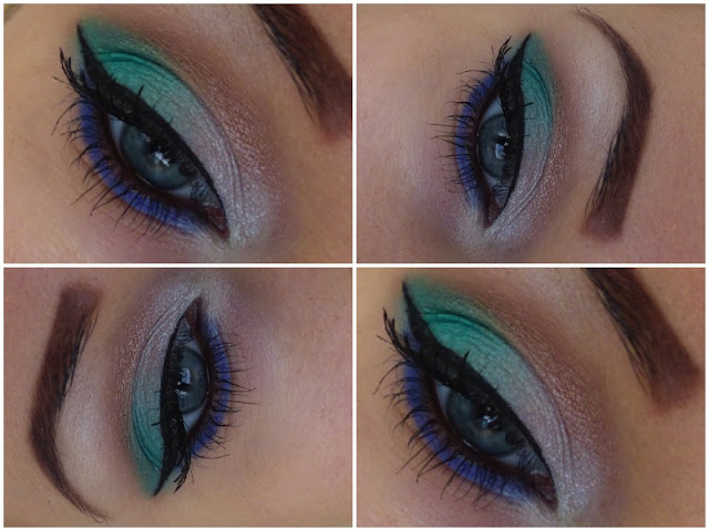 Green, Pearl, Brown and Blue - Make-up from Seventeen