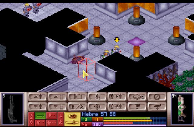 Open Xcom - Alien Base Screenshot